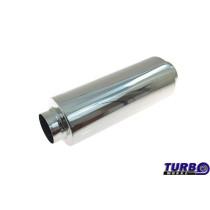 Sport kipufogó dob TurboWorks X113E 3'' 304SS 76mm